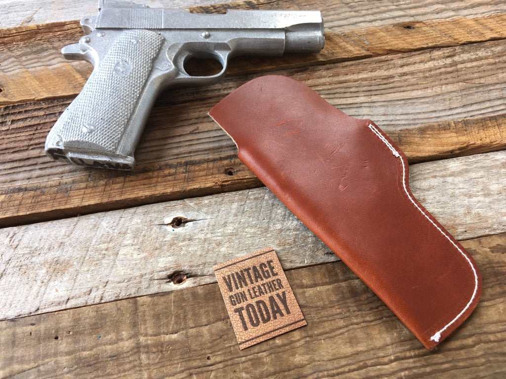 Vintage Alfonso's Suede Leather IWB Holster for Colt Commander 1911 Right Draw