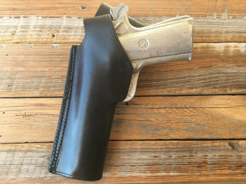 "Vintage Tex Shoemaker 45 Jordan Style Holster For 45 1911 up to 5"" Government"