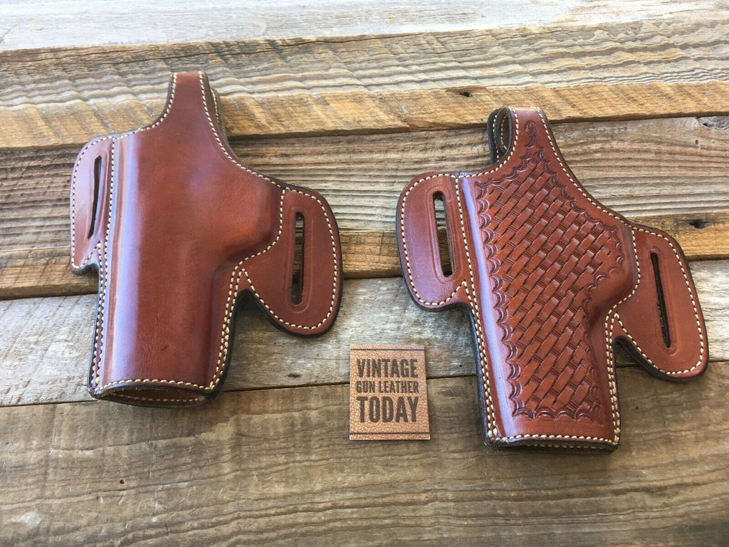 Vintage Alfonsos Thunderbird Leather Lined Holster For S&W Model 59 LEFT