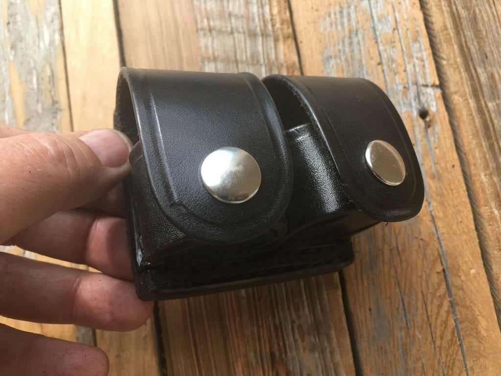 Tex Shoemaker Leather Speed loader Holder Leather For S&W K Six Second Reload