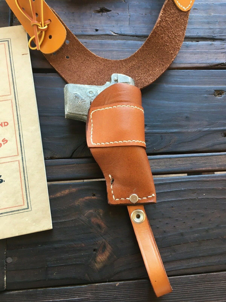 Vintage Brauer Brothers 00 Leather Shoulder Holster for Small 25 Automatic Auto