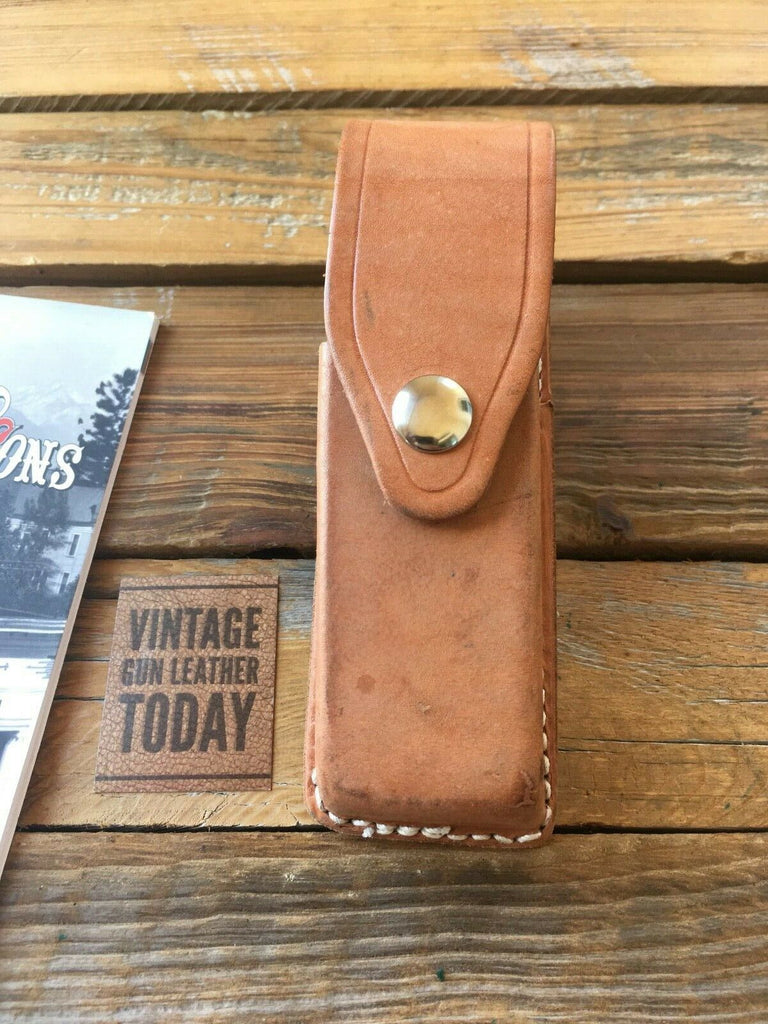 Tex Shoemaker Natural Brown Single Magazine Carrier For GLOCK 21 G21