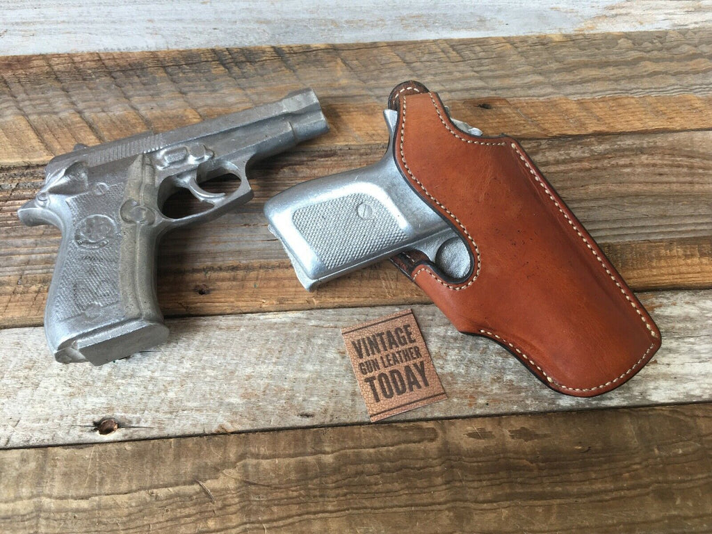 Alfonso's Plain Brown Suede Leather Lined Holster For Sig P230 84 Strong Cross