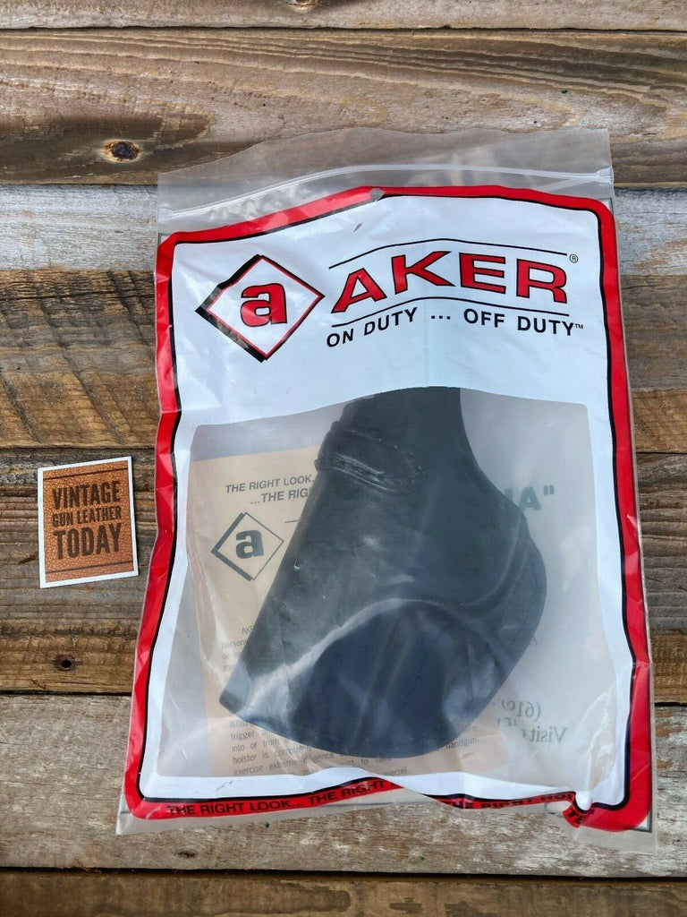 AKER Discontinued Black Leather IWB Spring Special Holster For S&W M&P 45C
