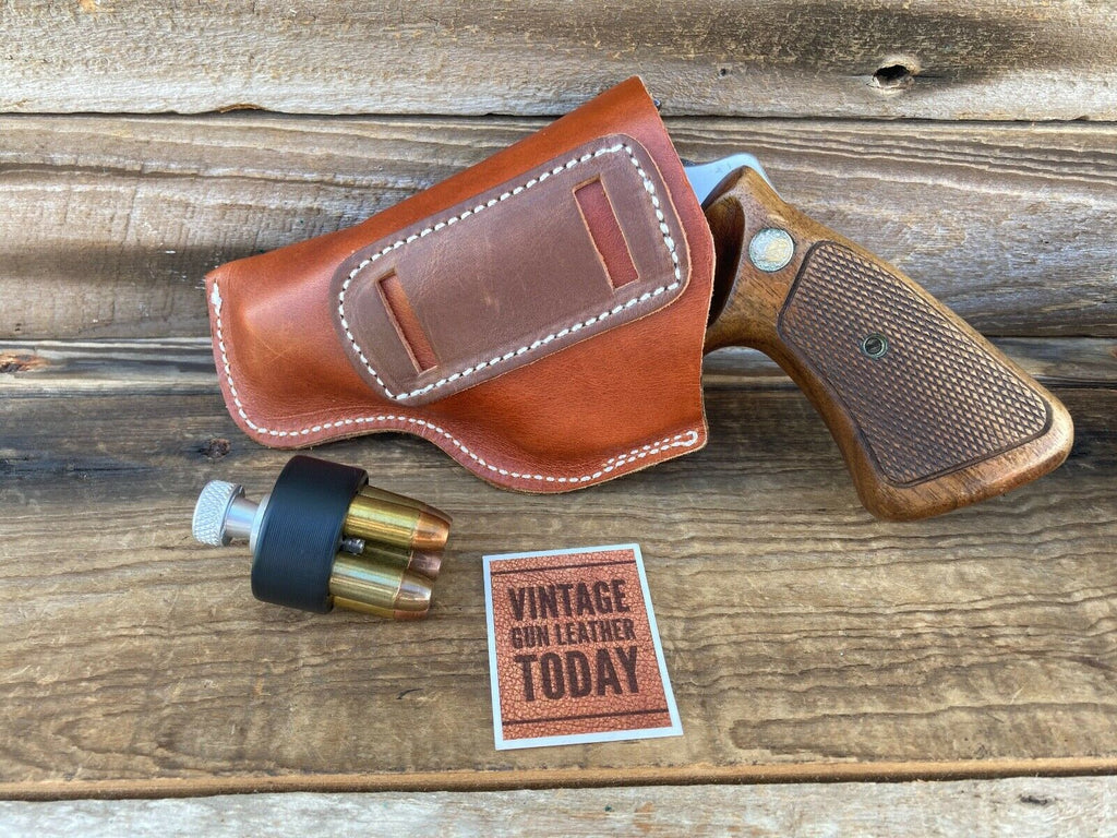 Alfonsos Leather IWB Holster For S&W  J Frame / Colt Detective Small Revolver 2""