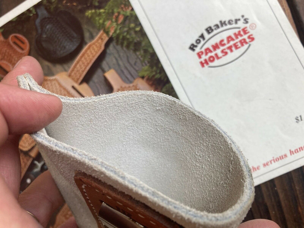 "Vintage Roys Hidden Thunder Leather IWB Holster for 4"" Medium Frame Revolver"