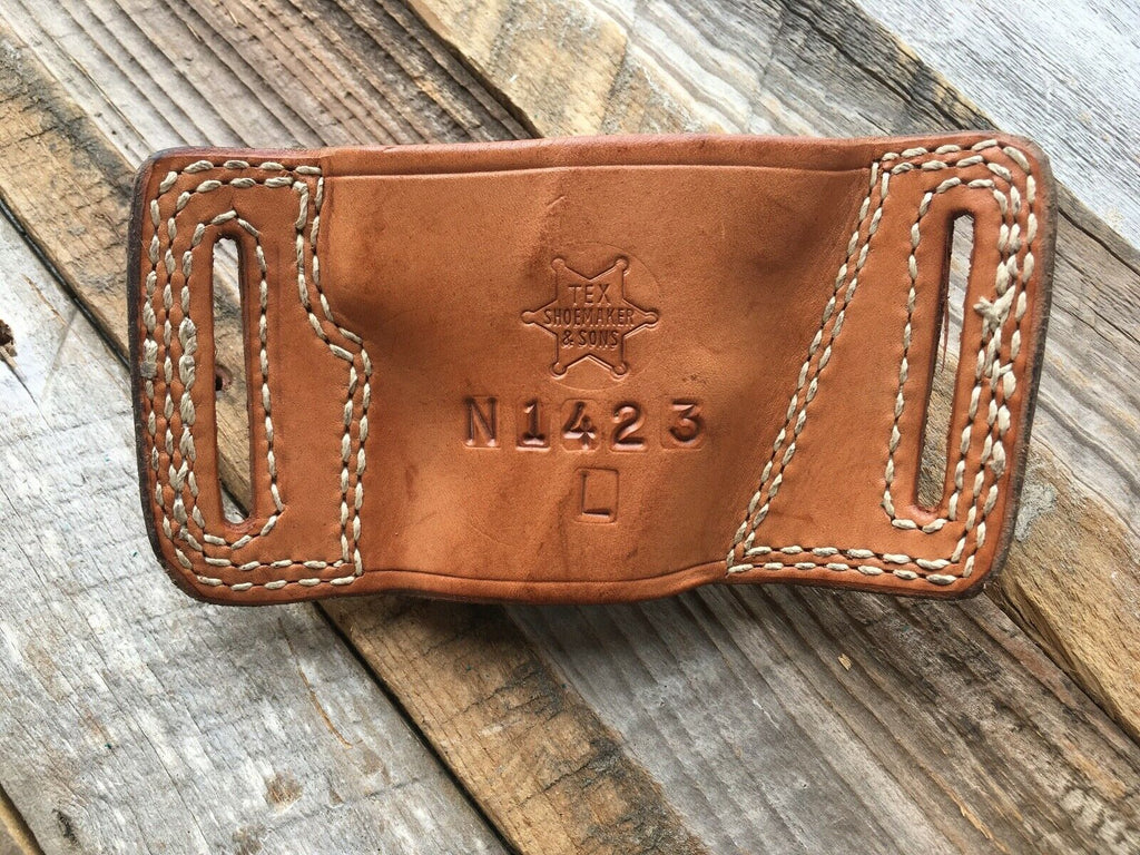Tex Shoemaker N14 23 Natural Brown Holster For S&W 469 LEFT