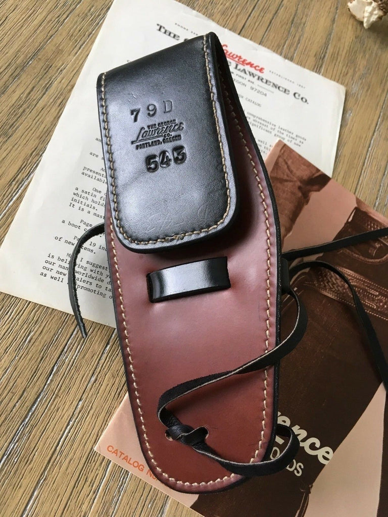 George Lawrence 79D 543 Leather Holster Fits S&W Mod 10 Military & Police 4""
