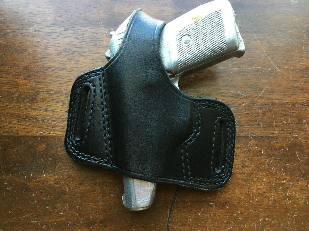 Tex Shoemaker Vintage N14 Leather OWB Pancake Style Holster For Sig P230 LEFT