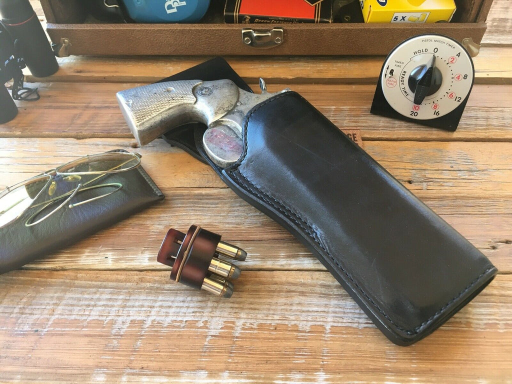 Tex Shoemaker 37 PPC Leather Swivel Competition Holster For S&W Colt Revolver