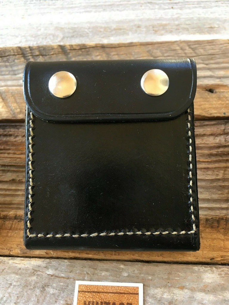 Beautiful Vintage Alfonso's 7mm Leather Rifle Cartridge Belt Case Ammo Wallet