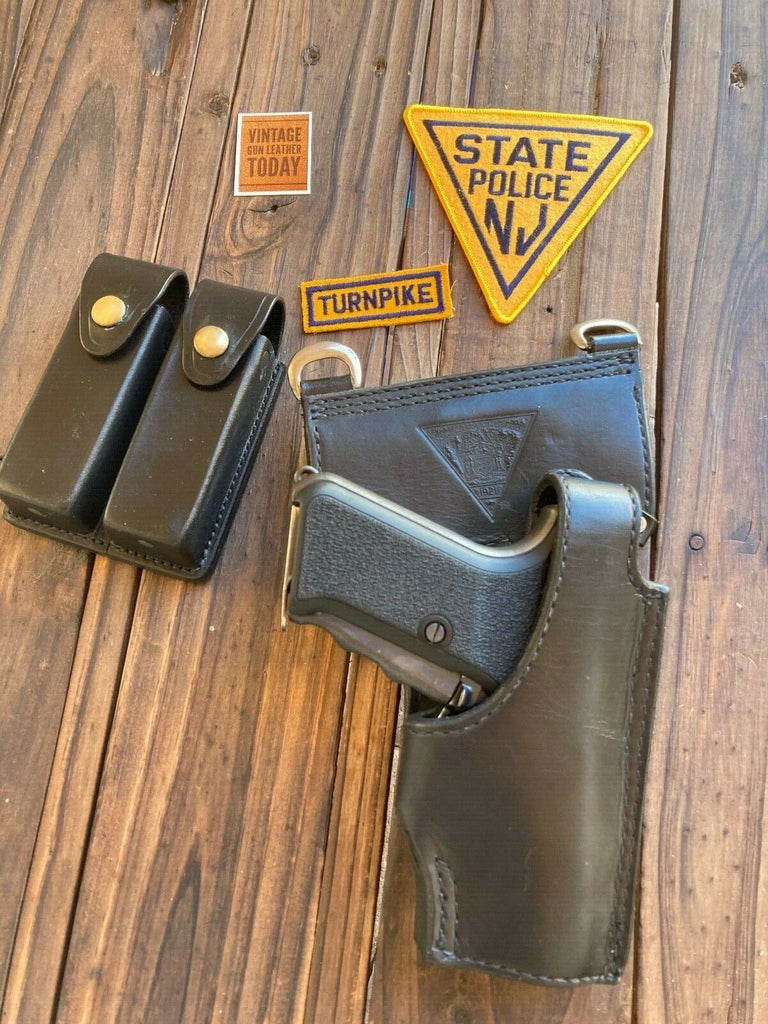 Vintage Tex Shoemaker NJSP Discontinued NJ State Police Holster For HK P7M8