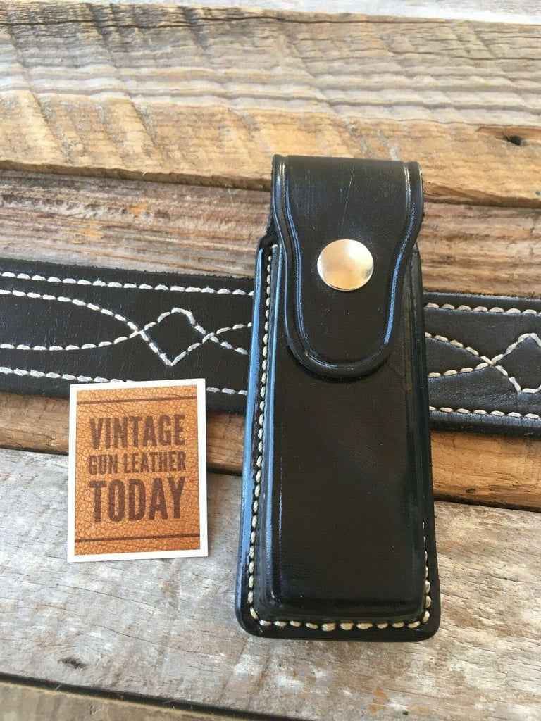 Vintage Alfonso's Leather Single Magazine Carrier For Steel Single Stack 45 1911