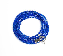 Load image into Gallery viewer, Sapphire Blue Bracelet OR Necklace