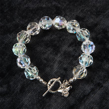 Load image into Gallery viewer, Clear Swarovski Crystal Bracelet