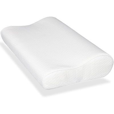 Deluxe Visco Elastic Memory Foam Contour Pillow - Set of 2