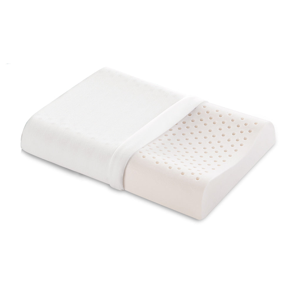 Natural Latex Contour Pillow - 2 pieces