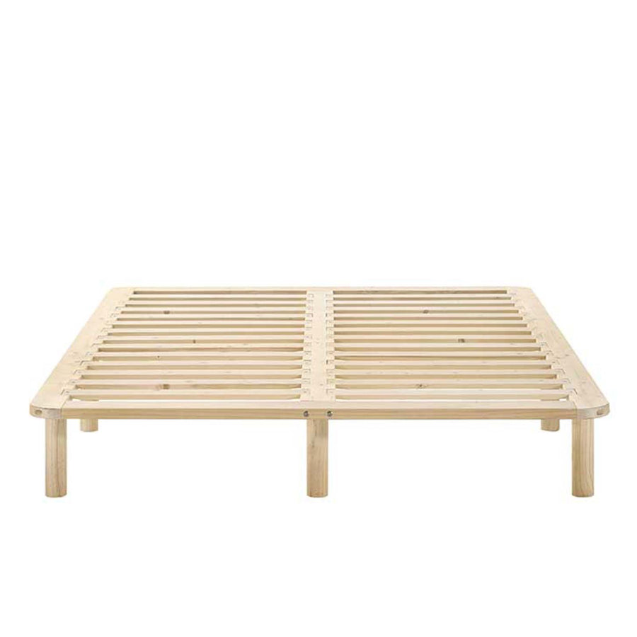 The Natural Wooden Bed Base