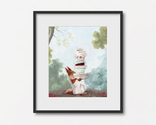 Load image into Gallery viewer, Squirrel at Teatime - Art Print