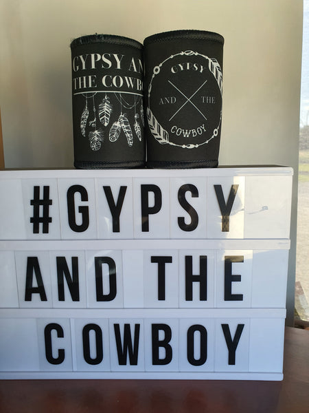 Gypsy and the Cowboy Stubby Holders