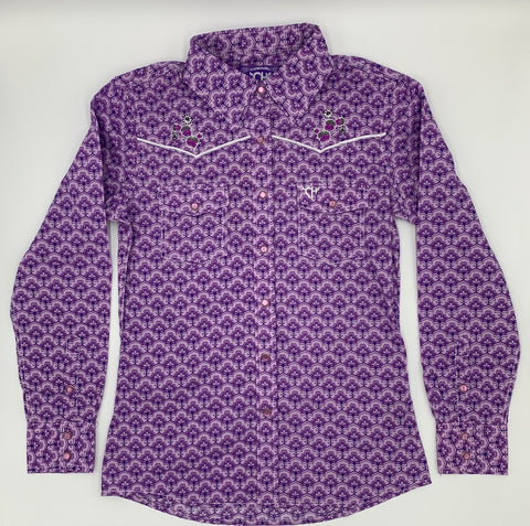 Youth | Maple Pattern L\S Shirt