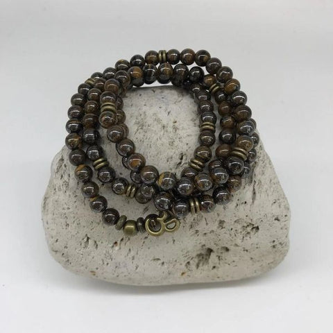 Iron Tiger Eye Stone Bracelet