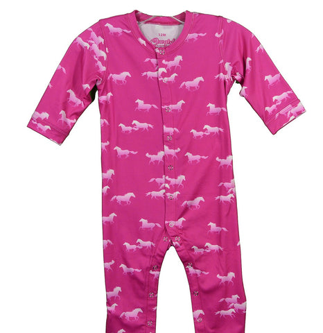 Infant | All Over Horse Romper