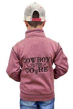 Youth | Cowboy To The Core Full Zip Jumper