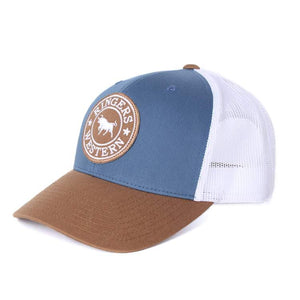 RINGERS WESTERN | Signature Bull Trucker | Dark Blue Steel