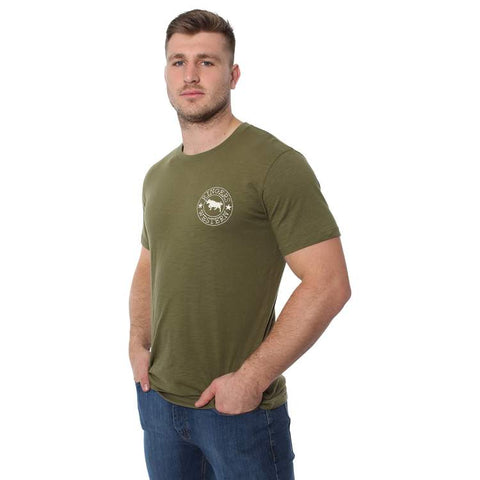 RINGERS WESTERN | Carson River Men's Classic T Shirt | Army