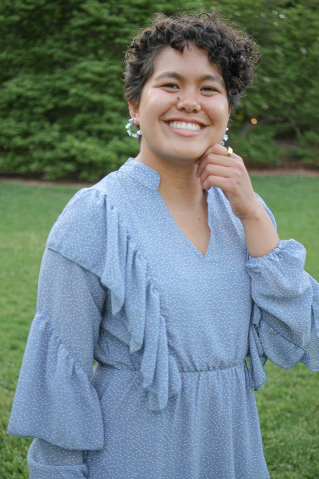 Butterfly Hair Clips in Gold