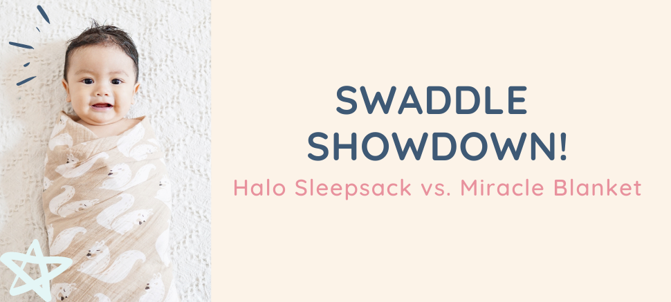 Baby Wrapped in Swaddle Comparison Blog Post