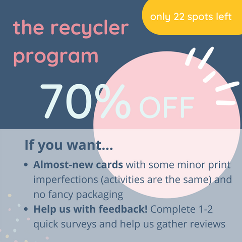 Recyclers Program to Buy Product at a Discount