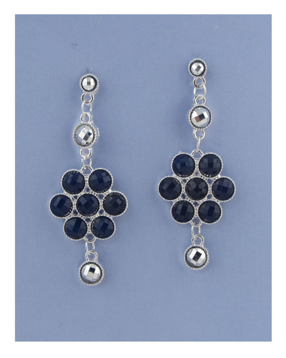 Flower drop earrings - Volumptuous Online Boutique