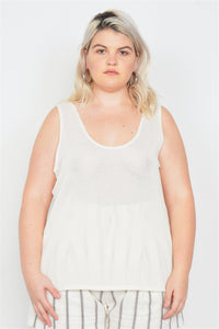 Causal Tank Top - Volumptuous Online Boutique