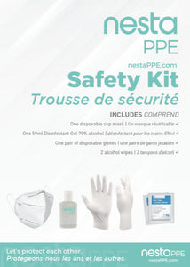 PPE Safety Kit with Mask