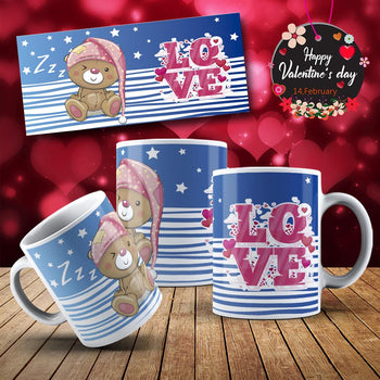 Image Sublimation Amour Saint-Valentin - (Fichier JPEG, PNG, SVG - 48 images téléchargeables) -