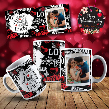 Image Sublimation Saint-Valentin avec photo - (Fichier JPEG, PNG, SVG - 20 images téléchargeables) -