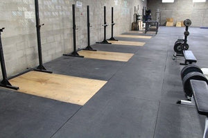 Are Rubber Gym Flooring Tiles Better Than Flooring Rolls?