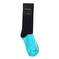 BLUE AND BLACK SOUL ASYLUM SOCKS