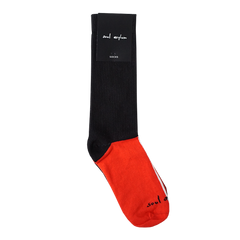 RED AND BLACK SOUL ASYLUM SOCKS