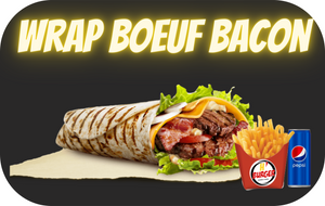 WRAP BOEUF/BACON