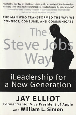 Jay Elliot The Steve Jobs way (Large soft cover)