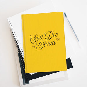 Soli Deo Gloria | Journal pages blanches