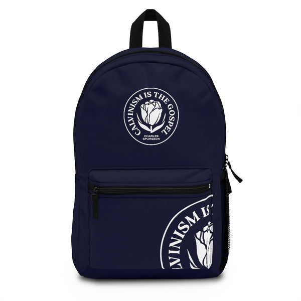 Calvinism is the gospel | Backpack (Made in USA)