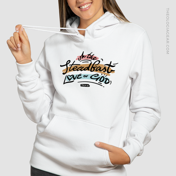 Oh the steadfast love of God | Women's Premium Hoodie