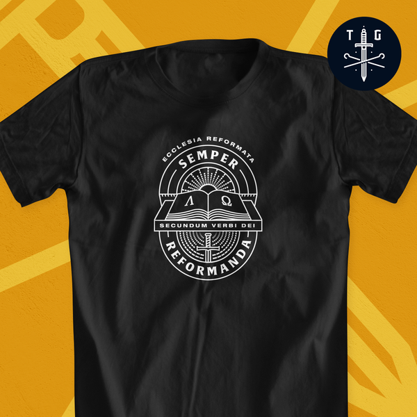 Semper Reformanda | Men's Dark T-Shirt