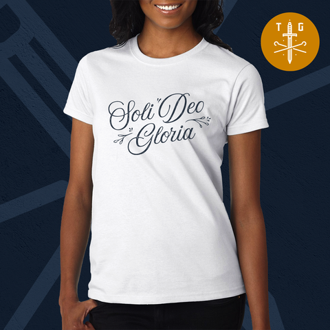 Soli Deo Gloria | Ladies' T-Shirt