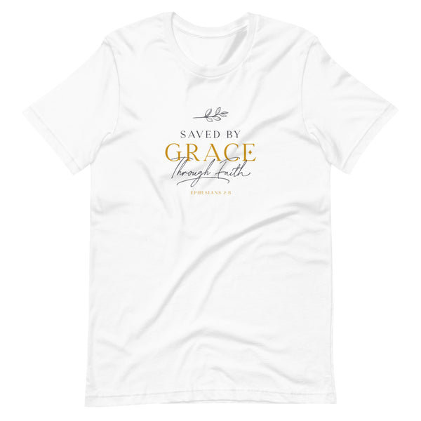 Saved by grace | Ladies' T-Shirt