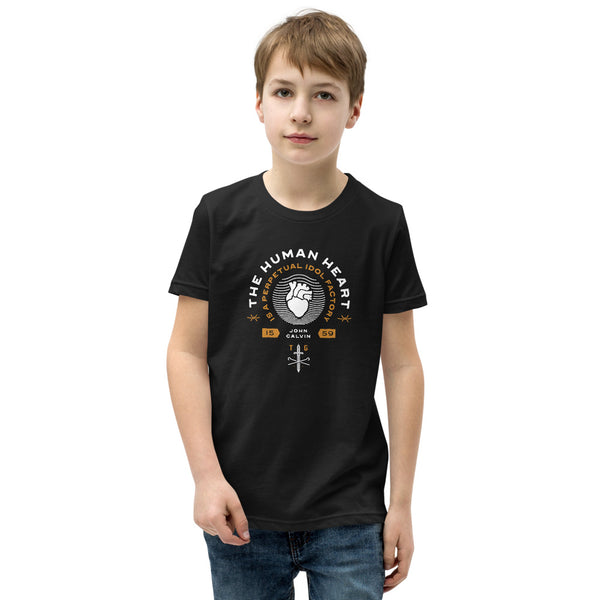The human heart | Unisex Youth Dark T-Shirt